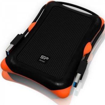 Жорсткий диск (HDD) Silicon Power Armor A30 1000GB USB 3.0 Black (SP010TBPHDA30S3K)