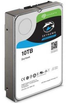 Жорсткий диск (HDD) Seagate SkyHawk Al Surveillance 256MB (ST10000VE0008) (ST10000VE0008)