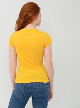 Футболка Sol's Miss 11386301 Желтая