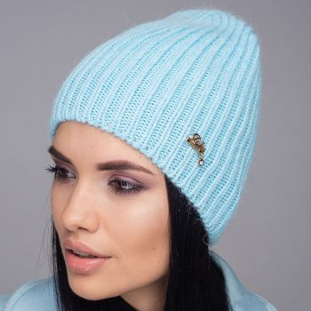 Женская шапка Jolie Зимняя Голубой (535)