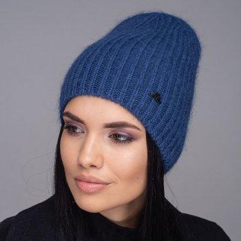 Женская шапка Jolie Зимняя Индиго (535)