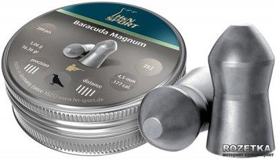 Свинцовые пули H&N Baracuda Magnum 1.06 г 200 шт