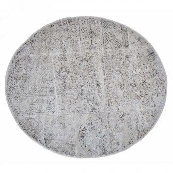 Килимок у ванну Arya Eskitme круглий 120 см Бежевий AR-TR1004842-bej