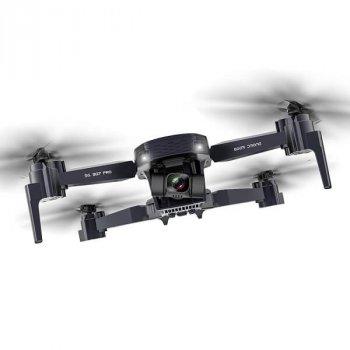 Квадрокоптер ZLRC SG907 Pro − дрон с 4K и HD-камерами, 5G Wi-Fi, FPV, GPS, 2-осевой подвес, до 14 мин. полета (k388)