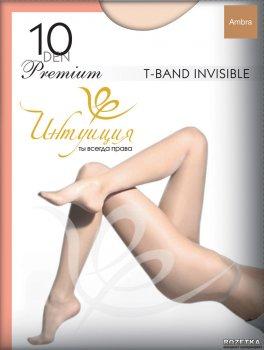 Колготки Intuicia Premium T-Band Invisible 10 Den Ambra
