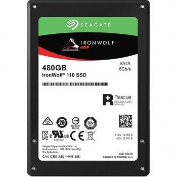 "Накопичувач SSD 480GB Seagate IronWolf 110 2.5"" SATAIII 3D TLC (ZA480NM10011)"