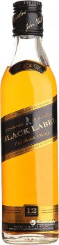 Виски Johnnie Walker Black label 12 лет выдержки 0.375 л 40% (5000267024608)