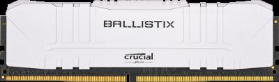 Оперативная память Crucial DDR4-3600 16384MB PC4-28800 Ballistix White (BL16G36C16U4W)