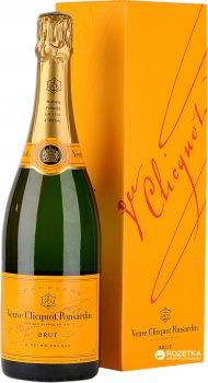 Шампанське Veuve Clicquot Ponsandin Brut біле брют 0.75 л 12% в подарунковій упаковці (3049614083891)