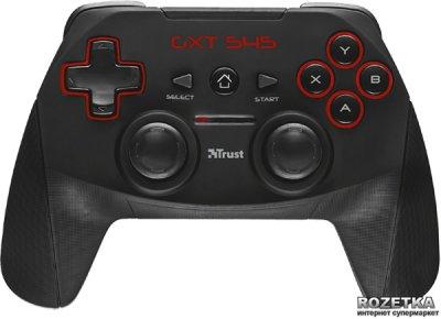 Бездротовий геймпад Trust GXT 545 PC/PS3 Black (TR20491)