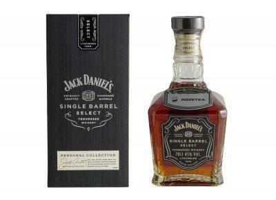 Теннесси Виски Jack Daniel's Single Barrel 0.7 л 45% (5099873388655)