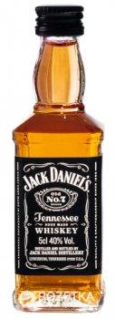 Теннесси Виски Jack Daniel's Old No.7 0.05 л 40% (5099873046296)