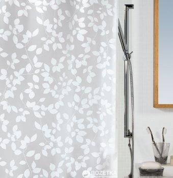 Шторка для ванної Spirella Blatt 180x200 Peva Бiла (10.08183)