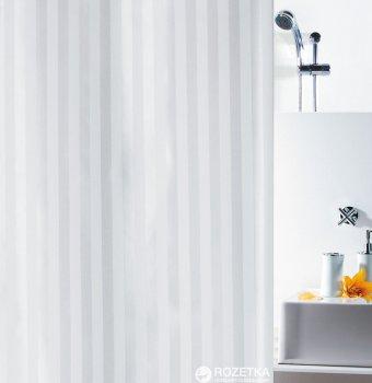 Шторка для ванної Spirella Magi 180x200 Polyester Бiла (10.11134)