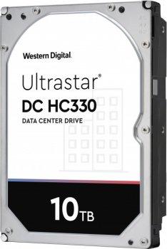 "Жорстку диск HDD 10TB Western Digital Ultrastar DC HC330 3.5"", 256MB, 7200RPM SATA 3 (0B35950)"