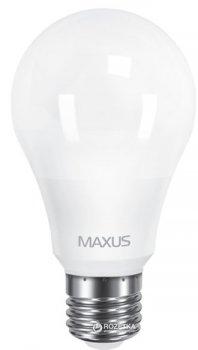 Світлодіодна лампа Maxus A60 10W м'яке світло 220V E27 2 шт (2-LED-561-01)
