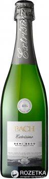 Вино игристое Bach Extrisimo Semi Seco белое полусухое 0.75 л 11.5% (8410013992094)