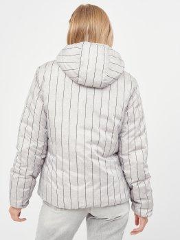 Куртка Champion 111091 Белая с серым