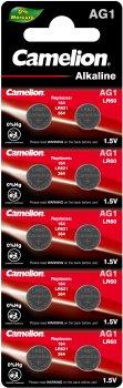 Батарейки Camelion AG 1 LR621 10 шт (AG1-BP10)