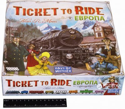 Настільна гра Hobby World Ticket to Ride: квиток на потяг Європа (4620011810328)