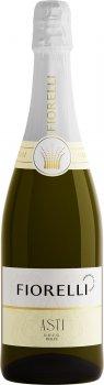 Вино ігристе Fiorelli Asti біле солодке 0.75 л 7% (8002915000313)