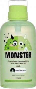 Міцелярна вода Etude House Monster Micellar Deep Cleansing Water з екстрактом алое вера 700 мл (8809667995597)