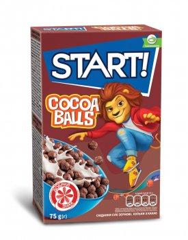 Сухой завтрак Start шарики с какао 75 г (4820008125453)