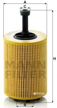Фильтрующий элемент масляного фильтра MANN HU 719/7x