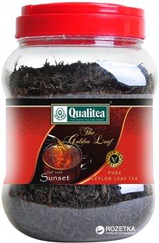 Чай черный Qualitea Цейлон Sunset Крупнолистовой 500 г (4791014004981)