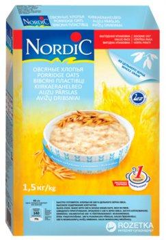 Хлопья овсяные NordiC 1.5 кг (6411200104452)