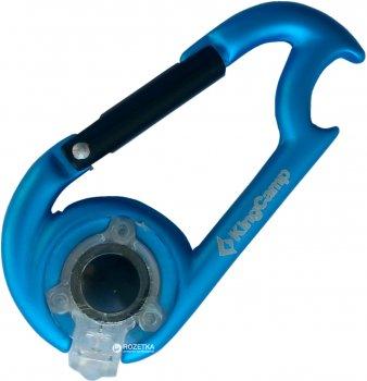 Карабин-фонарь KingCamp D-Shape LED Blue (KA8026)