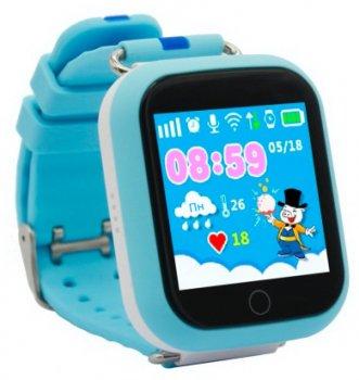 Дитячий годинник-телефон GOGPS ME К18 Blue (K18BL)