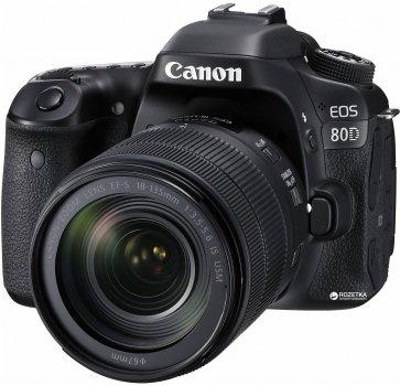 Фотоапарат Canon EOS 80D EF-S 18-135mm IS Nano USM Kit (1263C040) Офіційна гарантія!