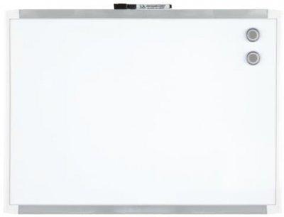 Доска Rexel Quartet магнитно-маркерная 585 x 430 мм белая рамка (1903772)