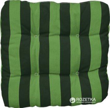 Подушка для стула Dajar Ellen 14003Х02 40x40 см Зеленая в полоску (5904134994639)