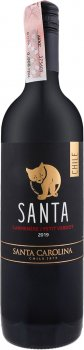 Вино Santa Carolina Carmenere/Petit Verdot красное сухое 0.75 л 13% (7804350006315)