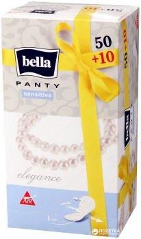 Ежедневные гигиенические прокладки Bella Panty Sensitive Elegance 50+10 шт (5900516311483)