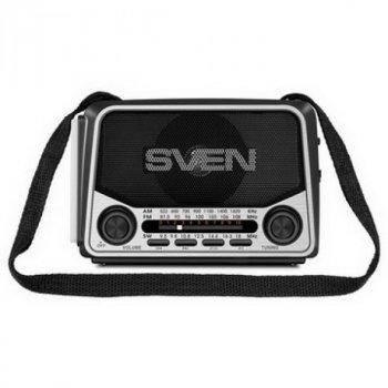 Радіоприймач Sven SRP-525 Gray UAH