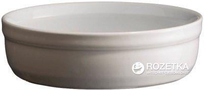 Форма порционная для крем-брюле Emile Henry HR Oven Ceramic Ovenware 13 x 13 x 3.5 см Белая (111013)