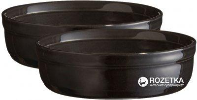 Набор форм для крем-брюле Emile Henry HR Oven ceramic Ovenware из 2 шт Черный (794013)