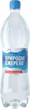 Упаковка питьевой артезианской газированной воды Природне джерело 1 л х 12 бутылок (4820097892038)
