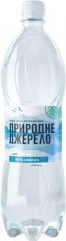 Упаковка питьевой артезианской негазированной воды Природне джерело 1 л х 12 бутылок (4820097892076)