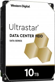 "Жорсткий диск Western Digital Ultrastar He10 10TB 7200rpm 256MB HUH721010AL5204_0F27354 3.5"" SAS"
