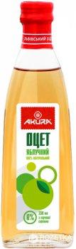 Уксус Akura спиртовой яблочный 6% 330 мл (4820178460354)