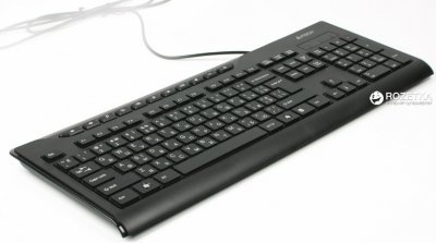 Клавіатура дротова A4Tech KD-800 USB (4711421881425)