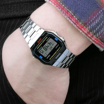 Чоловічий годинник CASIO A163WA-1QGF