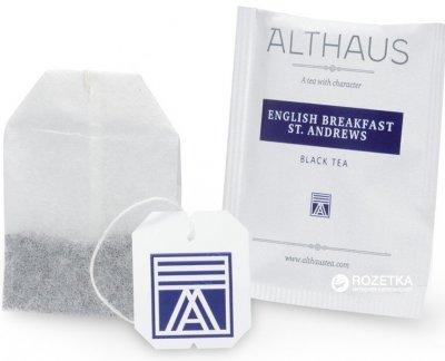 Чай чорний пакетований Althaus English Breakfast St. Andrews 20 х 1.75 г (4001258002651_4260312440925)