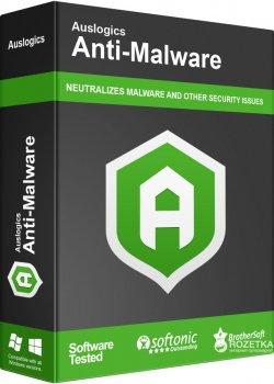 Антивірус Auslogics Anti-Malware для 1-3 ПК (електронна ліцензія) (AUSAM)