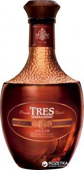 Текила Sauza Tequila Tres Generaciones Anejo 0.7 л 38% (7501005616775)