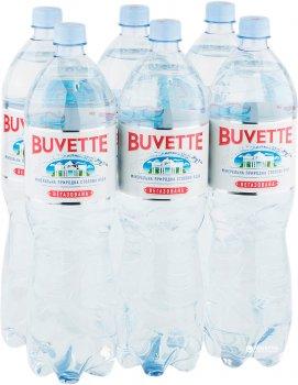 Упаковка минеральной негазированной воды Buvette Vital 1.5 л х 12 бутылок (4820115400467)